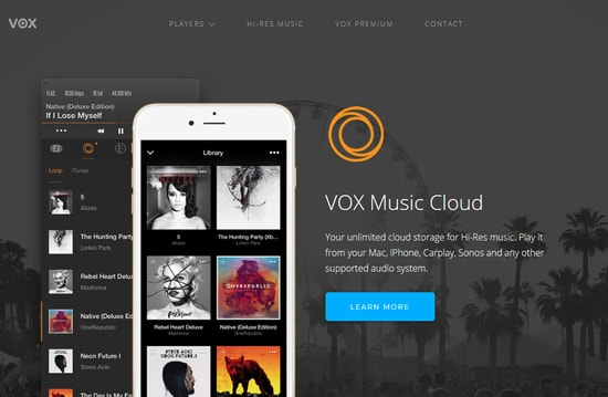 VOX Music Player for Mac iPhone Unlimited Solution for Music Lovers