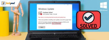 How To Fix Error Code 0x800f0988 In Windows 10