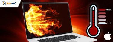 Top 11 Mac CPU Temperature Monitor Apps to Fix Macbook Overheating