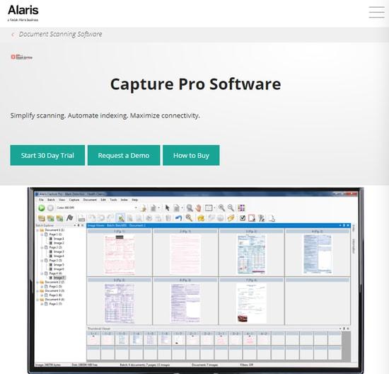 Alaris Capture Pro