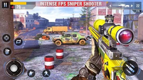 Real Commando 3D Sniper Shooter