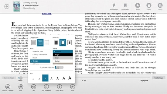 Nook Windows Epub Reader