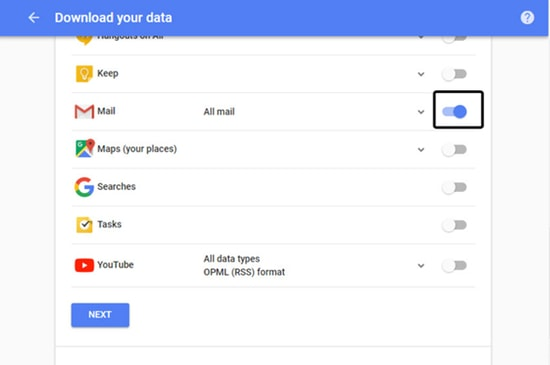 Download Gmail Messages Backup