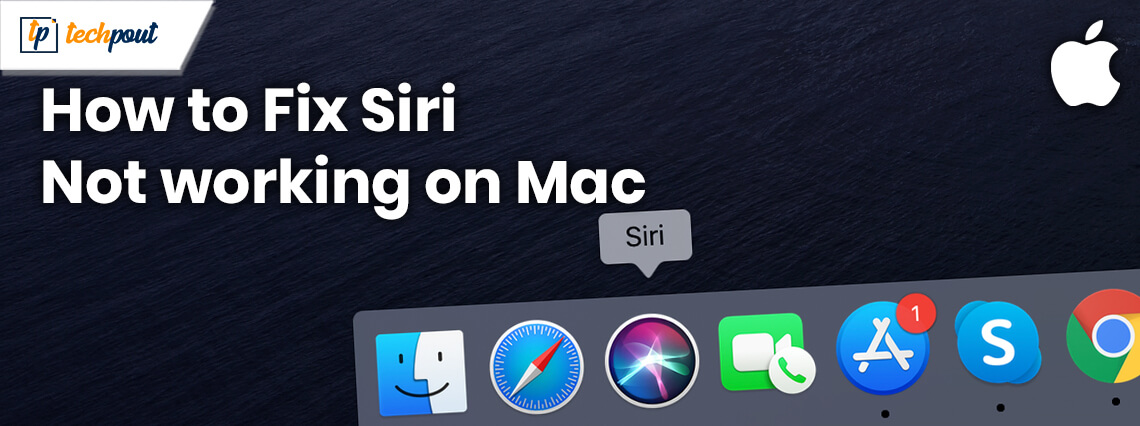 How To Fix SIRI Not Working On Mac