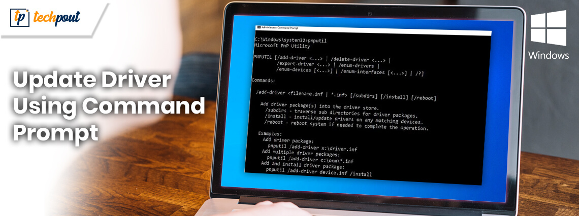 How to Update Drivers Using Command Prompt in Windows 10