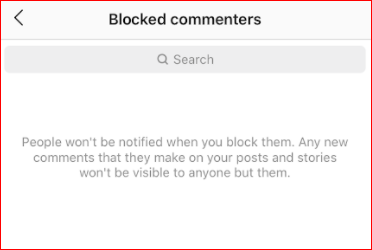 Block People From Commenting on Your Photos