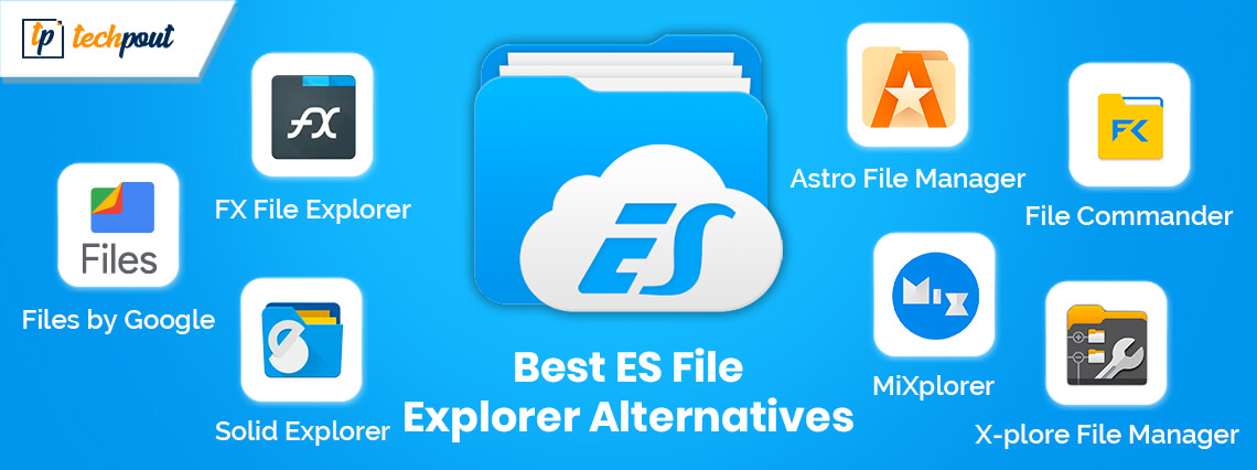 7 Best ES File Explorer Alternative Apps For Android in 2020