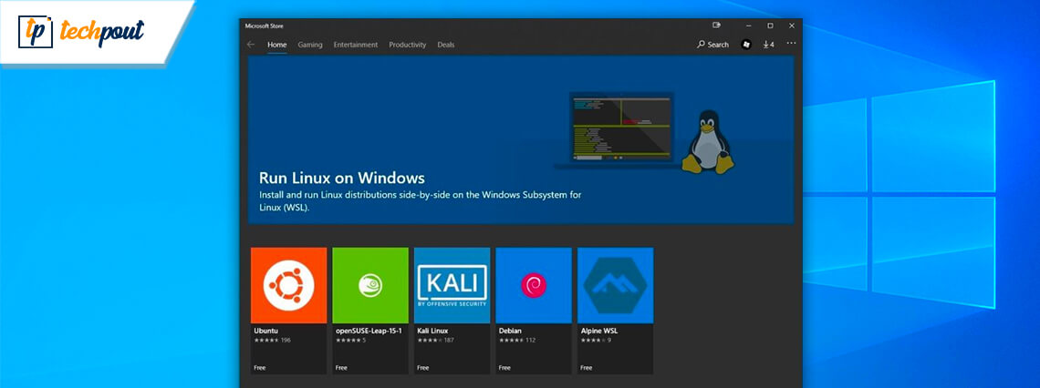 Installing Linux Distros is Now Easy in WSL as Windows 10 Make It