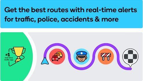 Waze - GPS, Haritalar, Trafik Uyarıları ve Navigasyon
