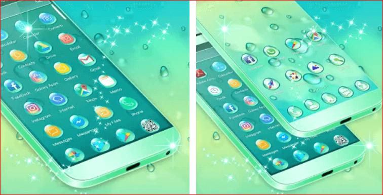 Water Drops Theme