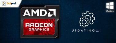 4 Smart Ways To Update AMD Drivers On Windows 10