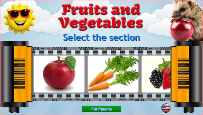 Fruits & Vegetables for Kids