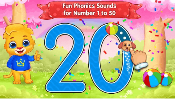 123 Numbers-Count & Tracing