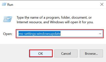 ms-settings windowsupdate