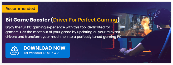 Bit Game Booster - Driver for Perfect Gaming [Recommended]