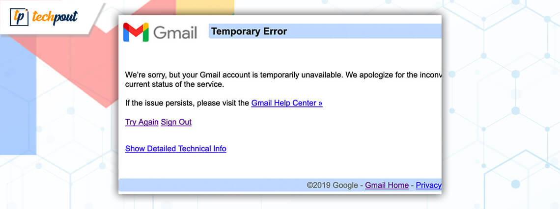 How to Fix Gmail Temporary Error