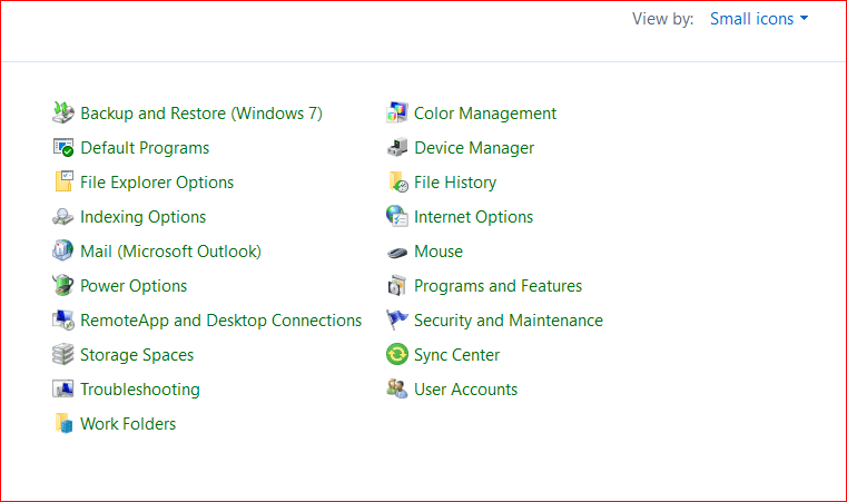 Choose Option of Troubleshooting and Hit View All Option
