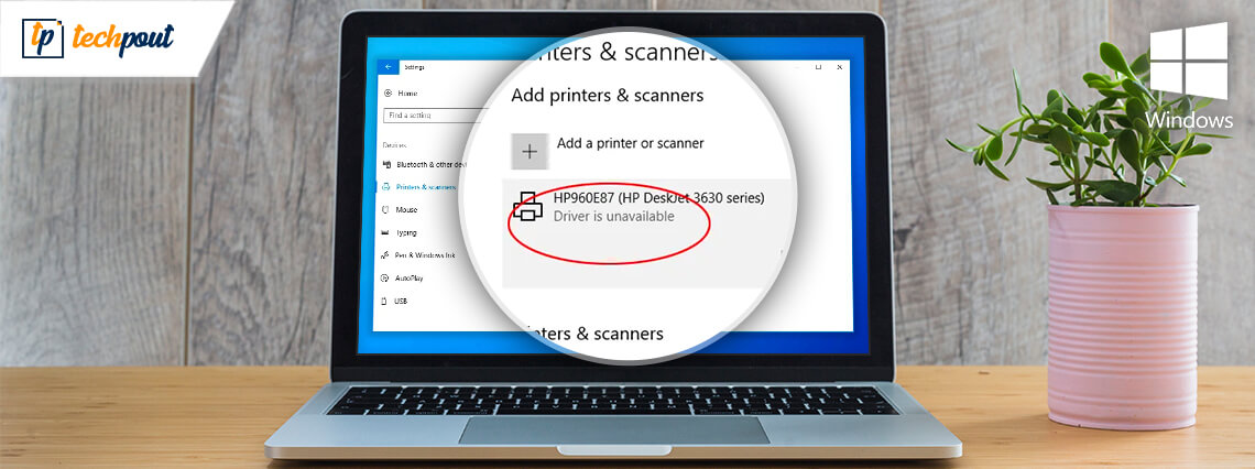 Printer Driver Is Unavailable On Windows 10 [Fixed]