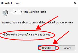 Click On Uninstall Option