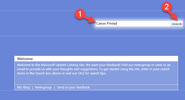 Search Your Device in Microsoft Catalog