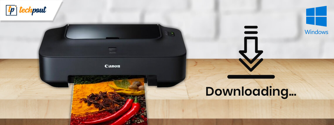 Canon IP2770 Printer Driver Download and Install on Windows 10