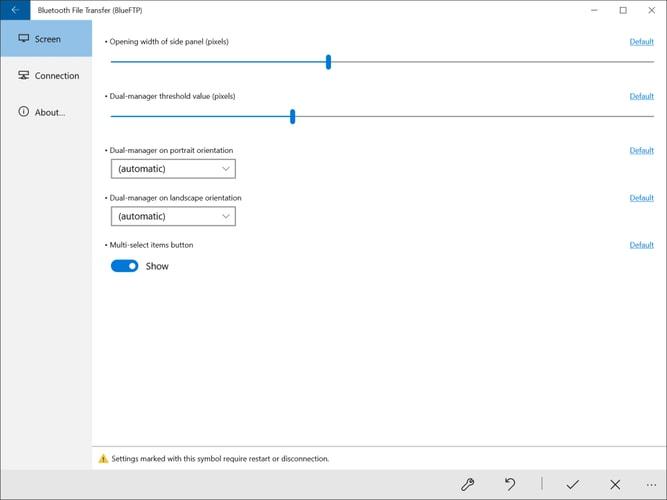 Bluetooth File Transfer - BlueFTP