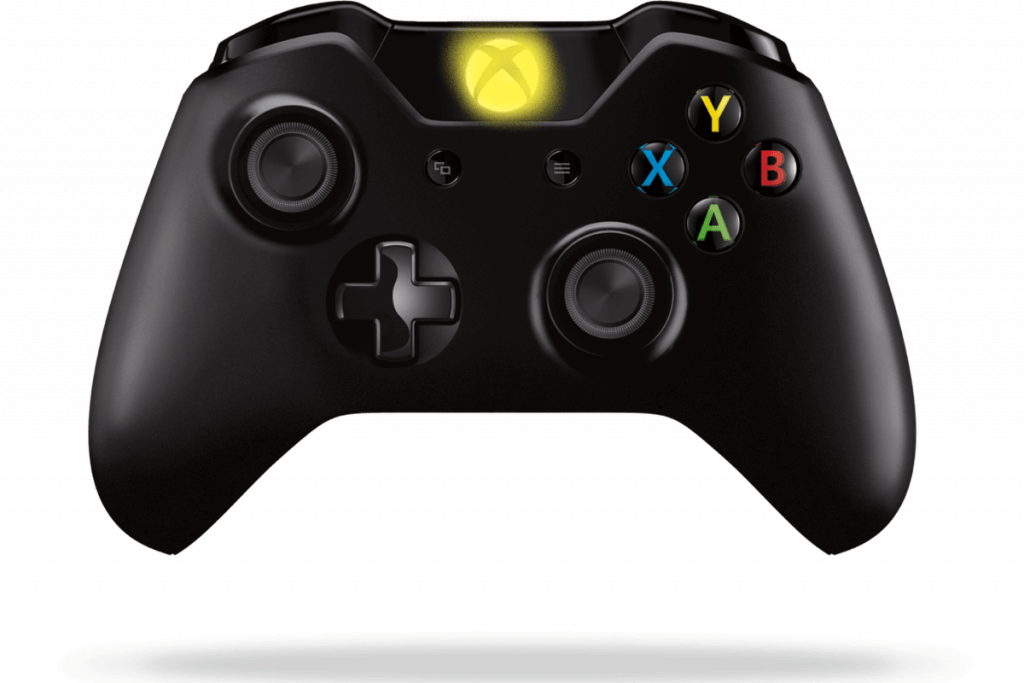 Press Xbox Button On Controller