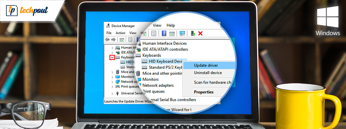 Download and Update HID Keyboard Device Driver For Windows 10/8/7