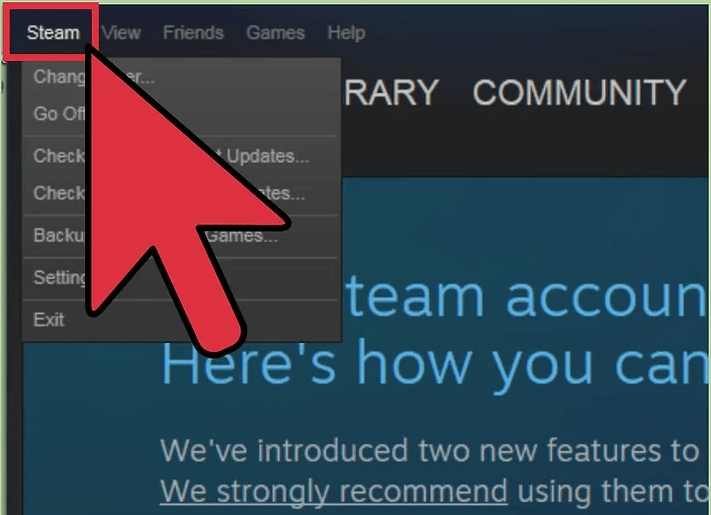 Click On Steam