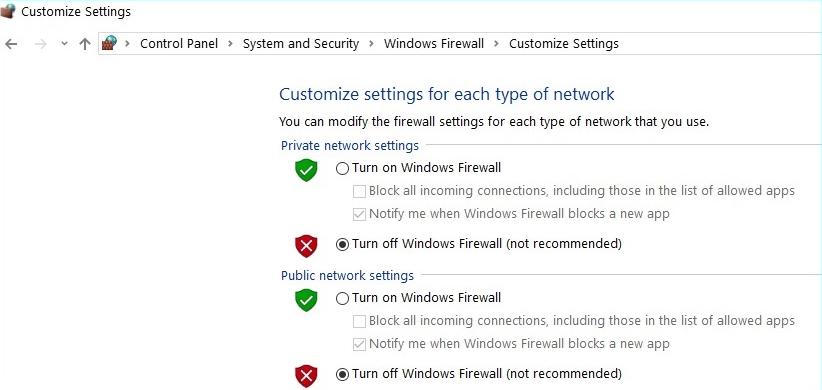 Window customize setting