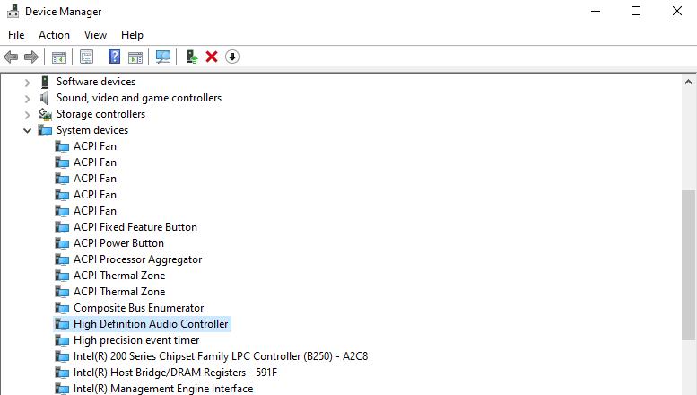 Windows Audio Controller
