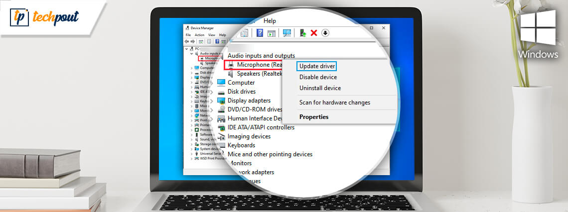 Download and Update Microphone Driver for Windows 10