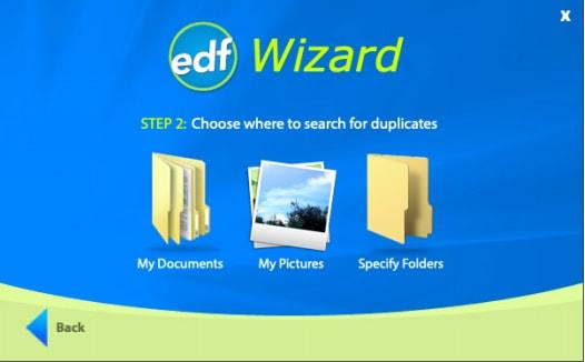 Choose Item to Find Duplicate Files