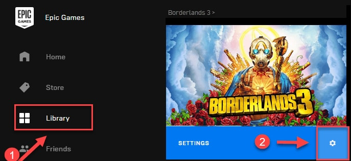 lower right edge of Borderlands 3