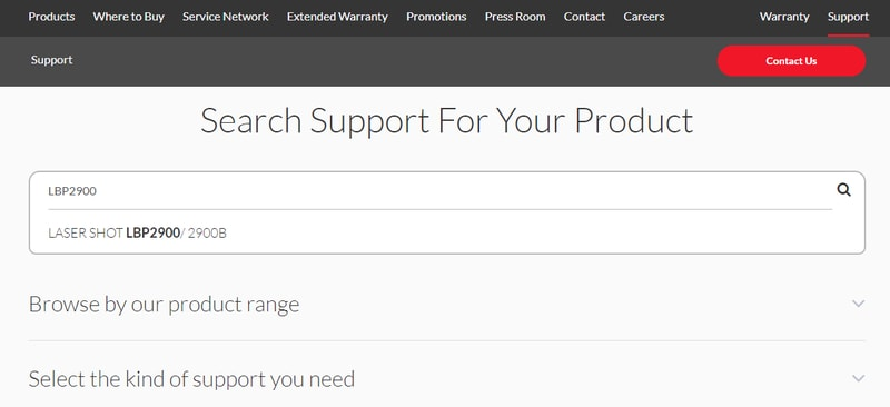 Select the Kind of product you need