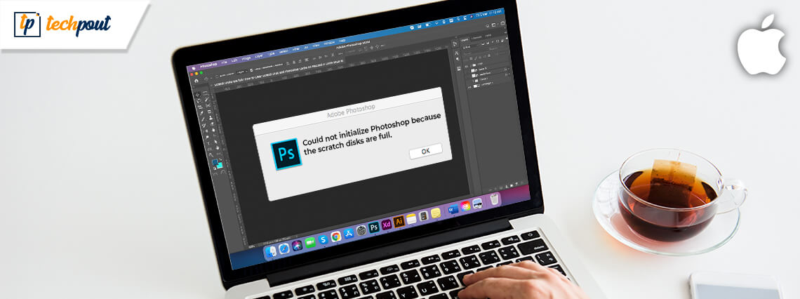 Scratch Disks are full? How to Clear Scratch Disk and Photoshop Cache on Mac?