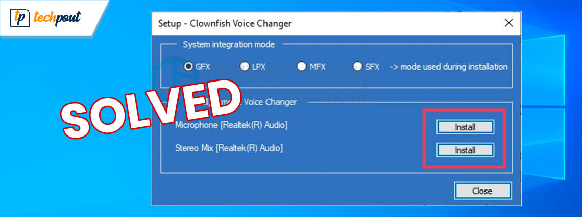 How to Fix Clownfish Voice Changer not working [SOLVED]