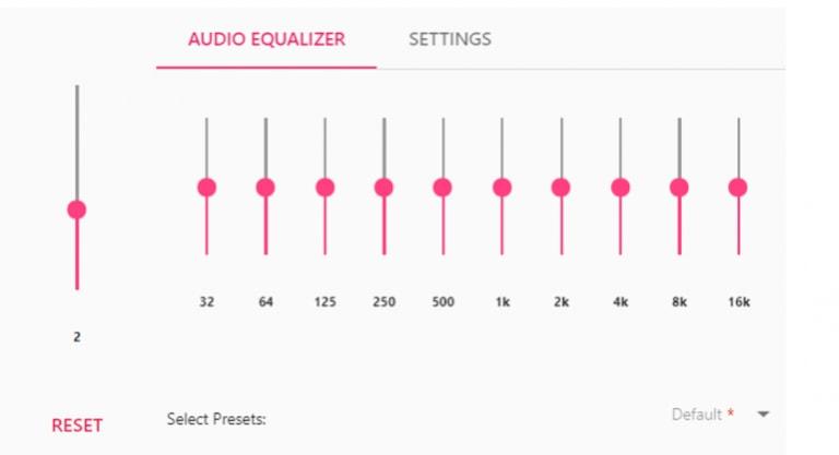 EQ Audio Equalizer