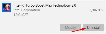 choose the Intel Turbo Boost Max Technology 3.0
