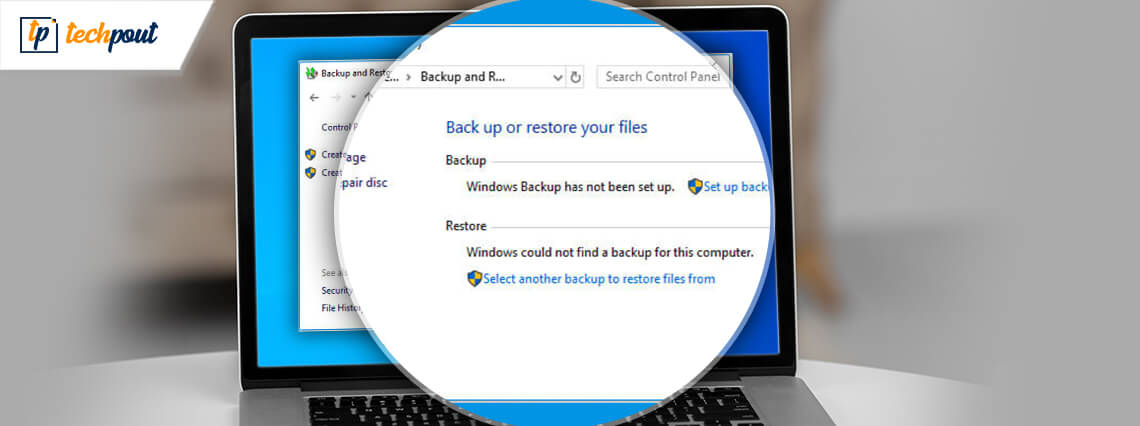 How to Backup and Restore Files in Windows 10
