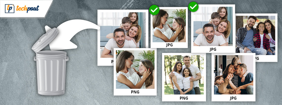 How To Delete Duplicate Photos Of Different File Formats