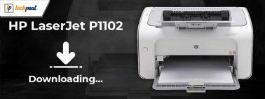 HP LaserJet P1102 Printer Driver Free Download and Update