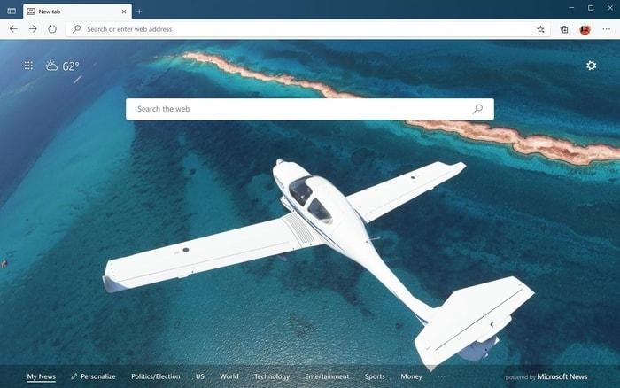 Microsoft Flight Simulator- Ocean Flight
