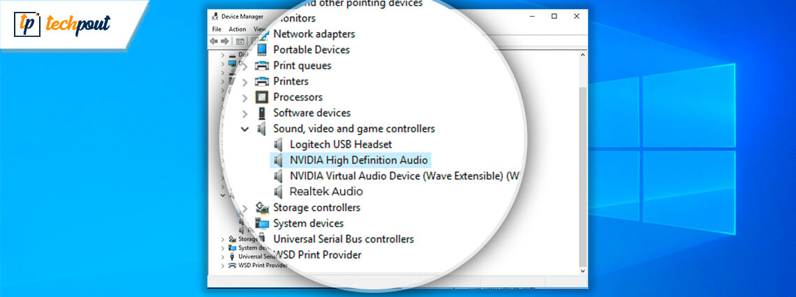 Download & Update Nvidia High Definition Audio Driver For Windows 10