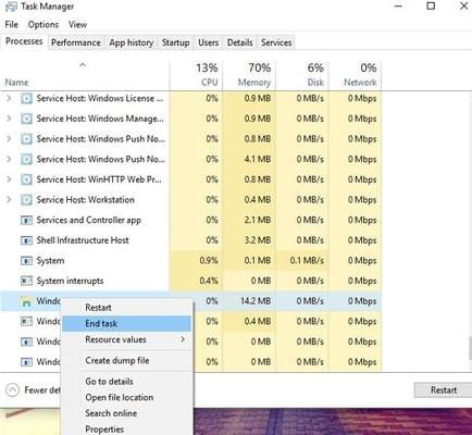 make right-click on Windows Explorer