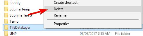 remove TileDataFolder
