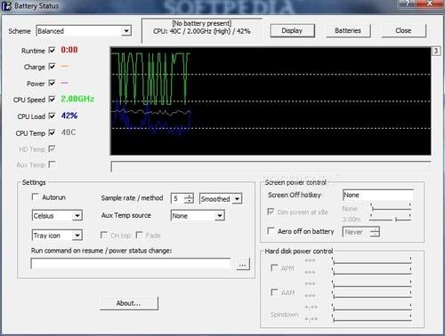Battery Status Monitor