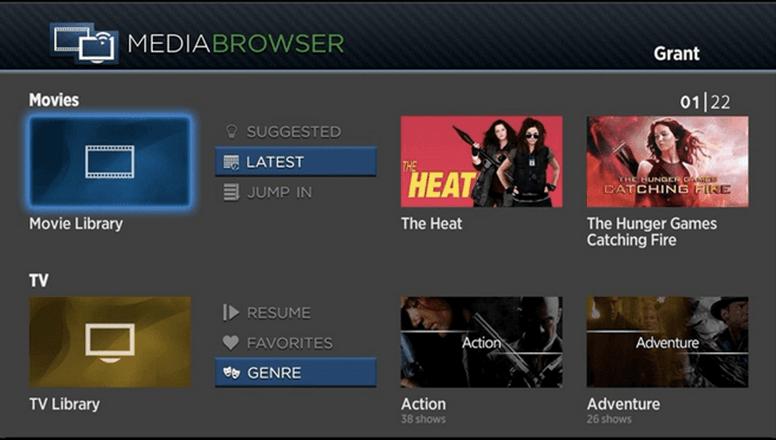 Media Browser for Roku