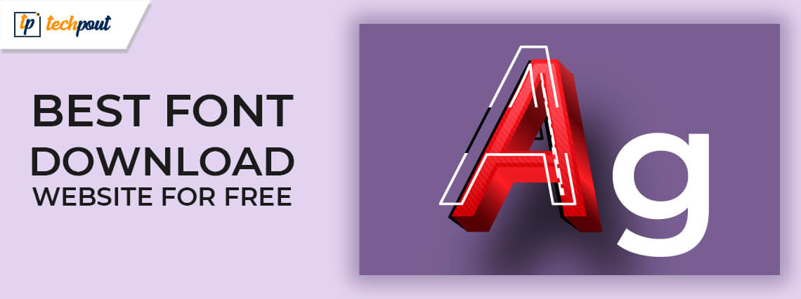 10 best font download website for free in 2021