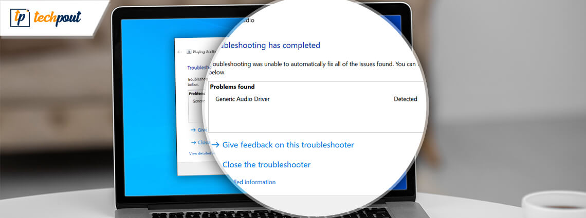How to Fix Generic Audio Driver Detected in Windows 10